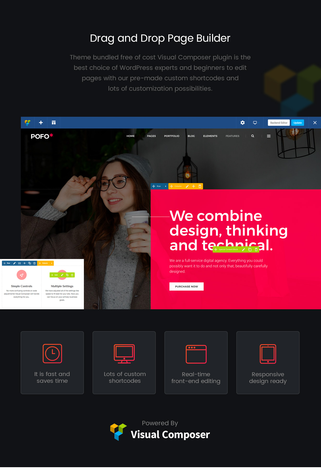 \ pofo wordpress page builder - Pofo – Creative Portfolio and Blog WordPress Theme